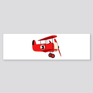 Vintage Airplane Bumper Sticker
