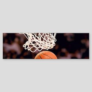 Basketball Scoring Bumper Sticker