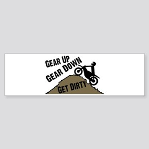 Get Dirty Sticker (Bumper)