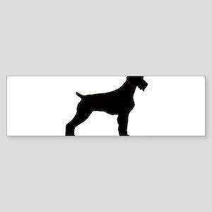 GWP silhouette Bumper Sticker