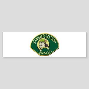 Lynwood Station Vikings Bumper Sticker