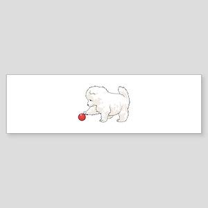 SAMOYED PUPPY Bumper Sticker
