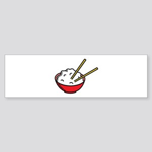 Bowl Of Rice Bumper Sticker