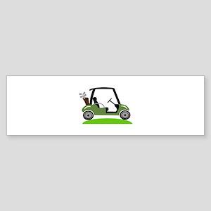 Golf Cart Bumper Sticker