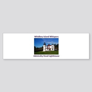 Admiralty Head Inlet Lighthou Sticker (Bumper)