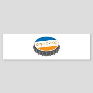 Pop.A.Top Bumper Sticker
