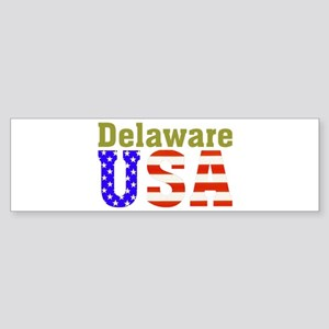 Delaware USA Bumper Sticker