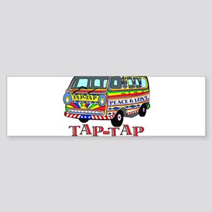 Tap Tap Bumper Sticker