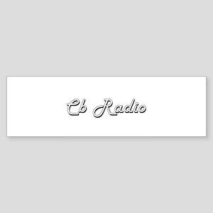 Cb Radio Classic Retro Design Bumper Sticker