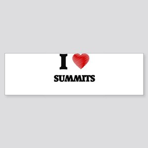 I love Summits Bumper Sticker