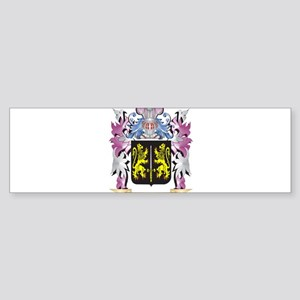 Carroll Coat of Arms (Family Crest) Bumper Sticker