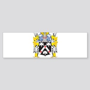 Blacksmith Coat of Arms - Family Cr Bumper Sticker