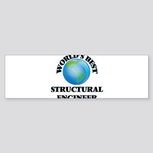 World's Best Structural Engineer Bumper Sticker