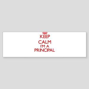 Keep calm I'm a Principal Bumper Sticker