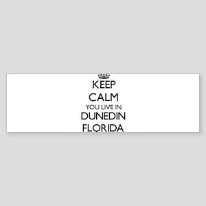 Keep calm you live in Dunedin Flori Bumper Sticker