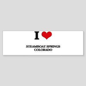 I love Steamboat Springs Colorado Bumper Sticker
