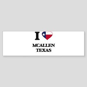 I love Mcallen Texas Bumper Sticker