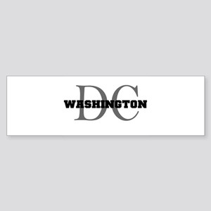 Washington thru DC Bumper Sticker