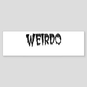 Weirdo Bumper Sticker