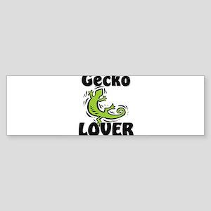 Gecko Lover Bumper Sticker