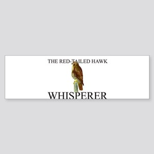The Red-Tailed Hawk Whisperer Bumper Sticker
