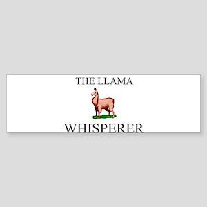 The Llama Whisperer Bumper Sticker