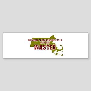 BOSTON SHIRT MASSACHUSETTES B Bumper Sticker