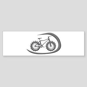 Awesome chrome swoop logo Bumper Sticker