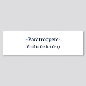 Paratrooper Bumper Sticker
