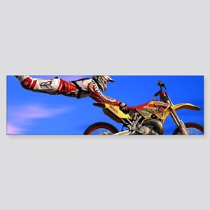 Motocross Freestyle Bumper Sticker