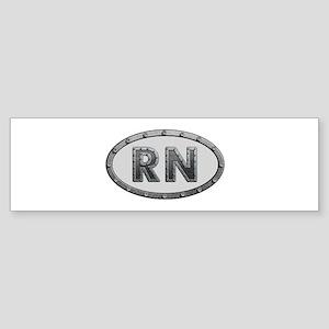 RN Metal Bumper Sticker