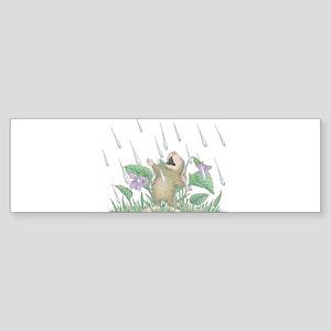 Singing in the Rain Bumper Sticker