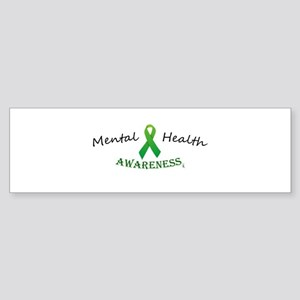Mental Health Awareness Ribbon Bumper Sticker
