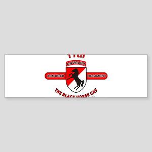 11TH ARMORED CAVALRY REGIMENT Bumper Sticker