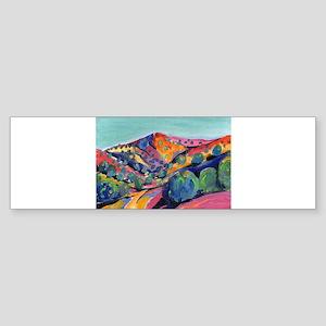 New Mexico Art Bumper Sticker