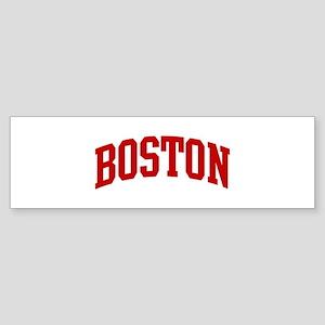 BOSTON (red) Bumper Sticker