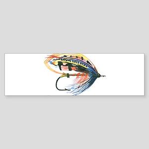 Fishing Lure Art Bumper Sticker