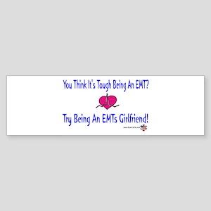 EMTs Girlfriend Bumper Sticker