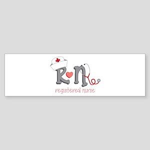 Registered Nurse Bumper Sticker