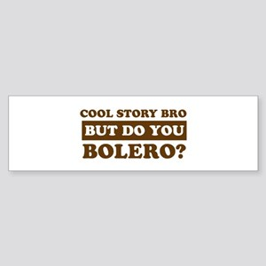 Bolero Designs Sticker (Bumper)