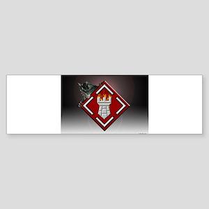 Castle Art Bumper Sticker