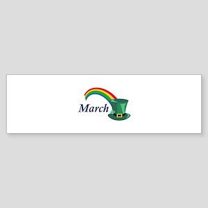 MARCH Bumper Sticker