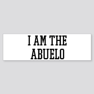 I am the Abuelo Bumper Sticker