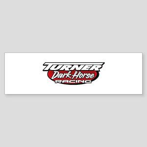 turner dark horse racing logo Sticker (Bumper)