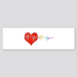 Pulse Bumper Sticker
