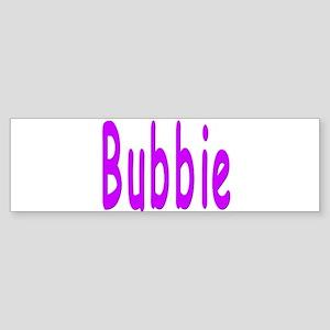 Bubbie Bumper Sticker