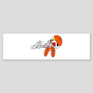 Ballaholic - NATIVE BALLER Sticker (Bumper)