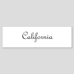 California Sticker (Bumper)