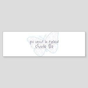 Suicide Awareness Choose Life! Sticker (Bumper)