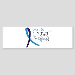 Suicide Awareness-Never Replaced Bumper Sticker